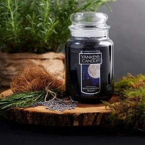PRICE DROP! $12.99 (Reg $27.99) Yankee Candle Large Jar Candle Midsummer's Night