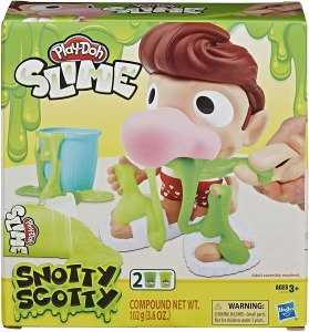 PRICE DROP! $5.49 (Reg $9.99) Play-Doh Slime Snotty Scotty Funny Toy with 2 Cans of Slime Snot