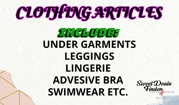 Clothing Articles Template