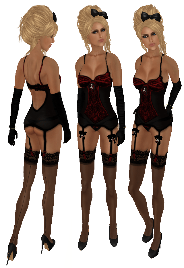 Blacklace Sexy Lingerie! (4/6)