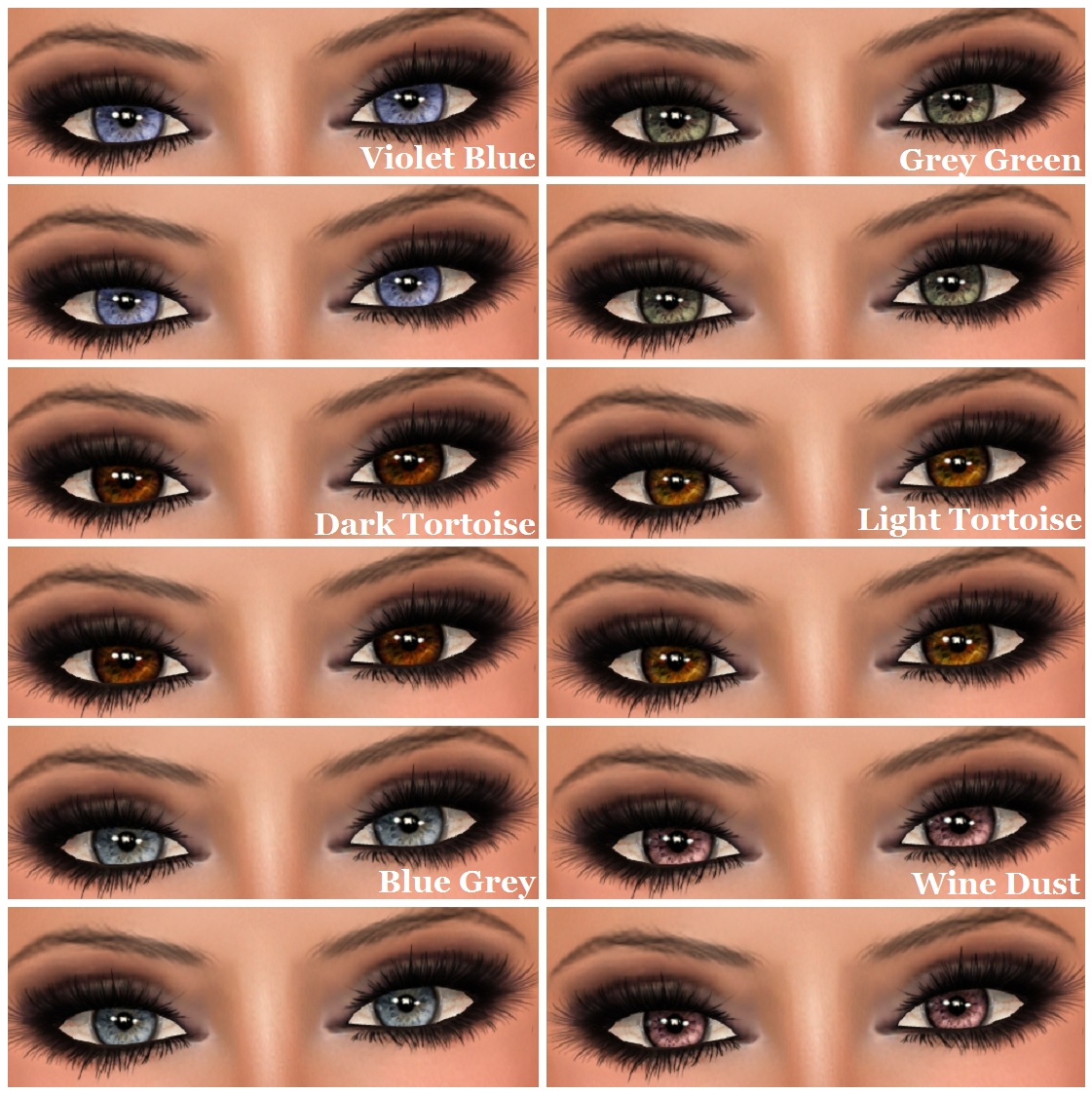 My Style In Second Life Hudson S Clothing Co Head On Eyes