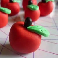 Teacher Cupcake Fondant Toppers
