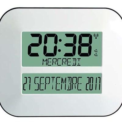 Horloge calendrier radio-pilotée TIMEO cuisine