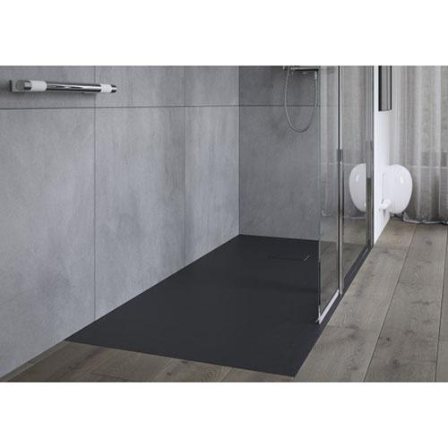 receveur de douche extra plat onyx
