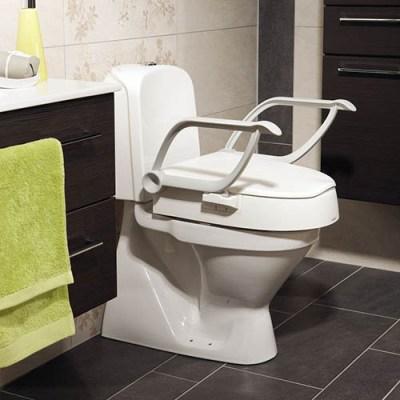 Rehausse WC seniors et PMR