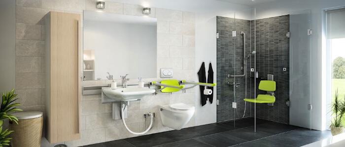 Comment réussir l'aménagement de votre salle de bains PMR ?