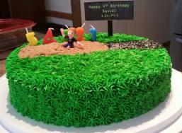 Chocolate Long Jump Cake