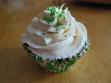 Irish Cream Cupcake