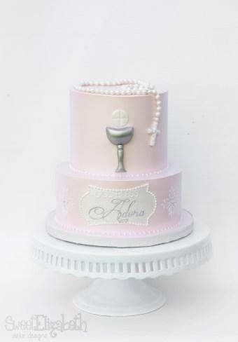 Sweet Christening Cake