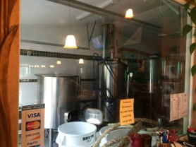 Small brewery, Mutiny is brewing, in Joseph OR.