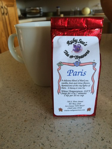 Paris tea from Harney & Sons