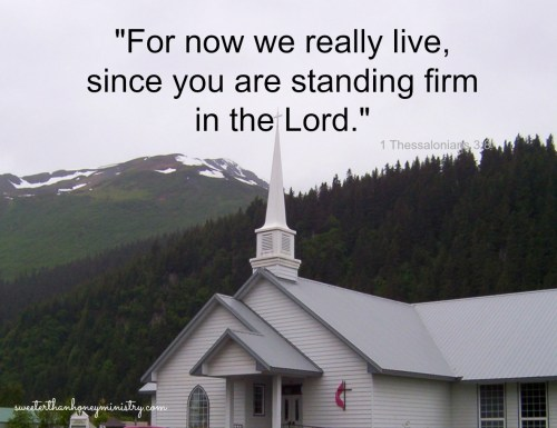 alaska church 1 Thessalonians 3-8