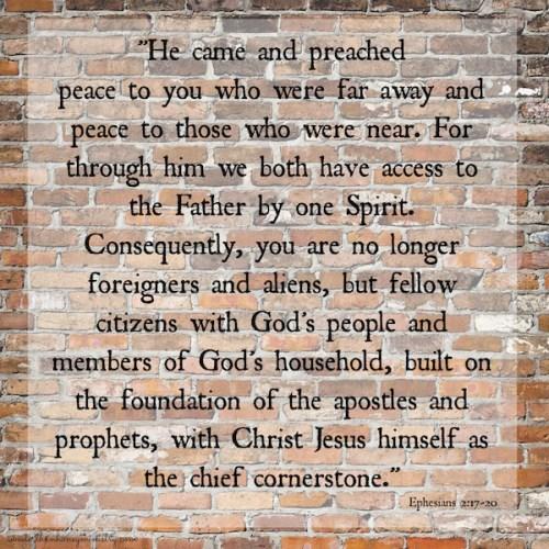 Ephesians 2-17-20