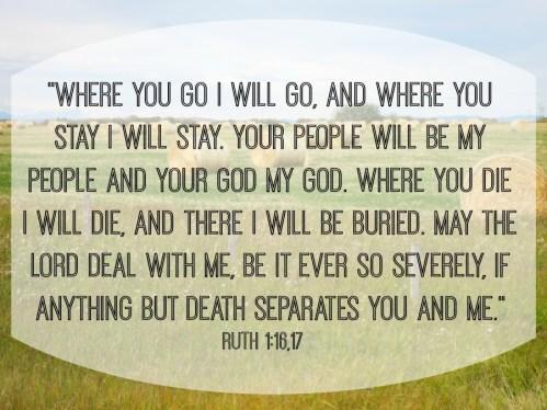 Ruth 1-16,17