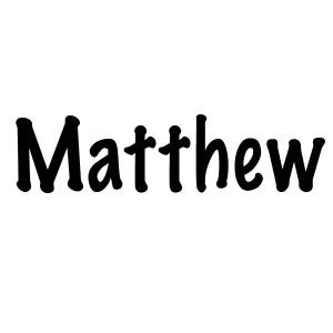The Twelve Apostles of Jesus: Matthew