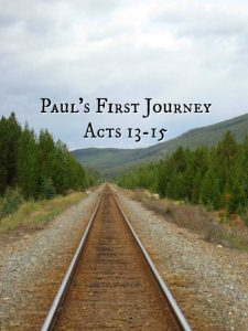 Paul's First Missionary Journey: Introduction