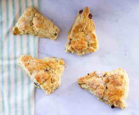 The easiest flakiest vegan scone recipe
