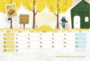 2015 オリジナルカレンダー 11月
