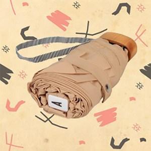 Mini parapluie beige crème CAMILLE. Anatole.