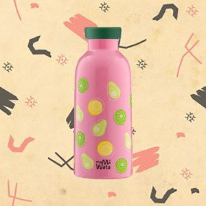 Bouteille isotherme motif fruits Mama Wata 470ml