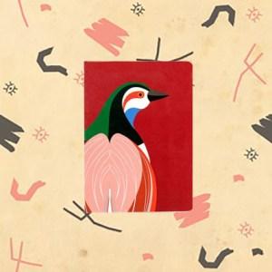 Carnet imprimé oiseau modèle RANI.