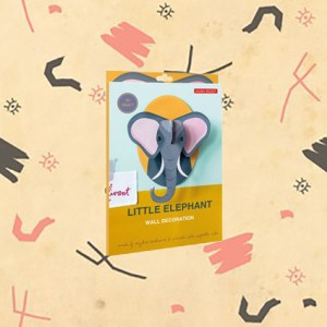 Elephant 3D à construire par studio ROOF.