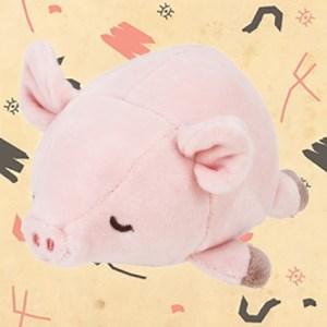 Peluche cochon Nemu Nemu