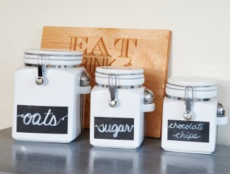 Crate and Barrel containers