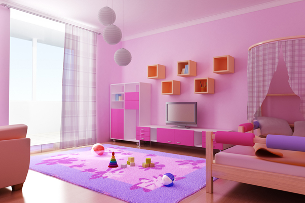 Girl Decorating Room Games