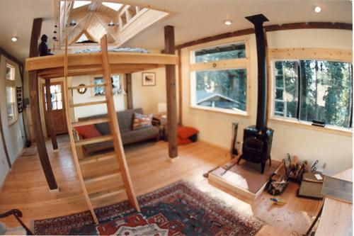 A Frame Garage With Loft 2404
