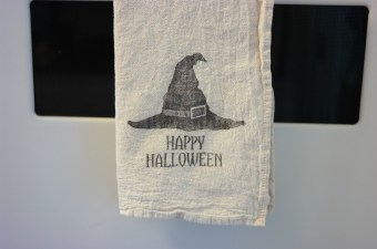 Brand New Organic Cotton Halloween Tea Towels