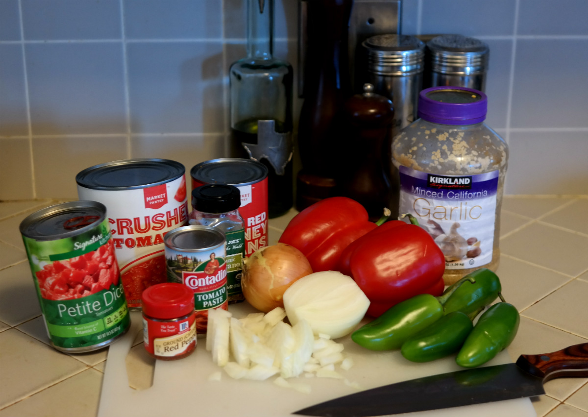 Chili Ingredients