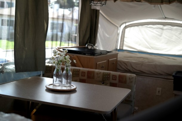 Fleetwood santa fe pop up camper