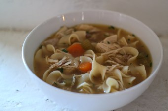 Instant Pot Homemade Chicken Noodle Soup