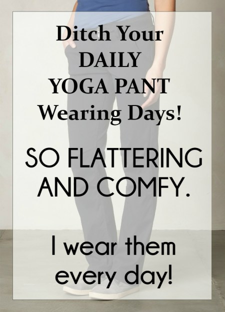 Yoga Pant Alternative