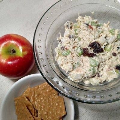 skinny cumin chicken salad