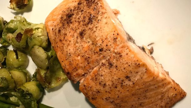 perfectly baked salmon