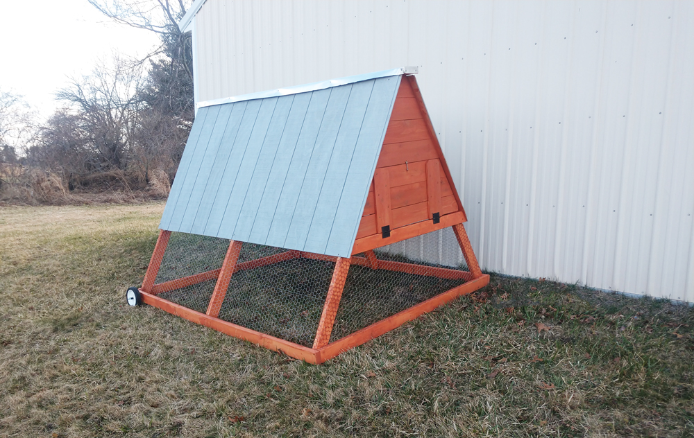 Ana White a frame chicken coop