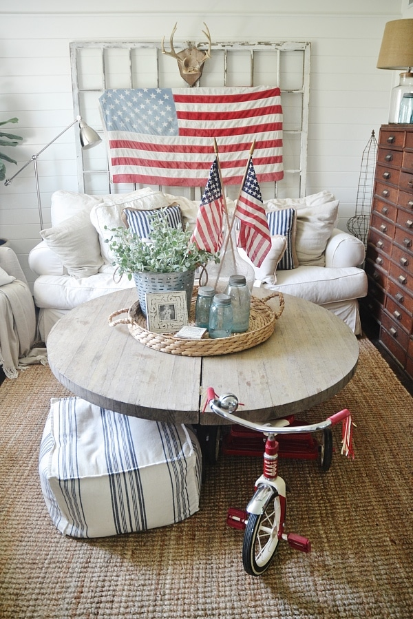 4th of july living room decor