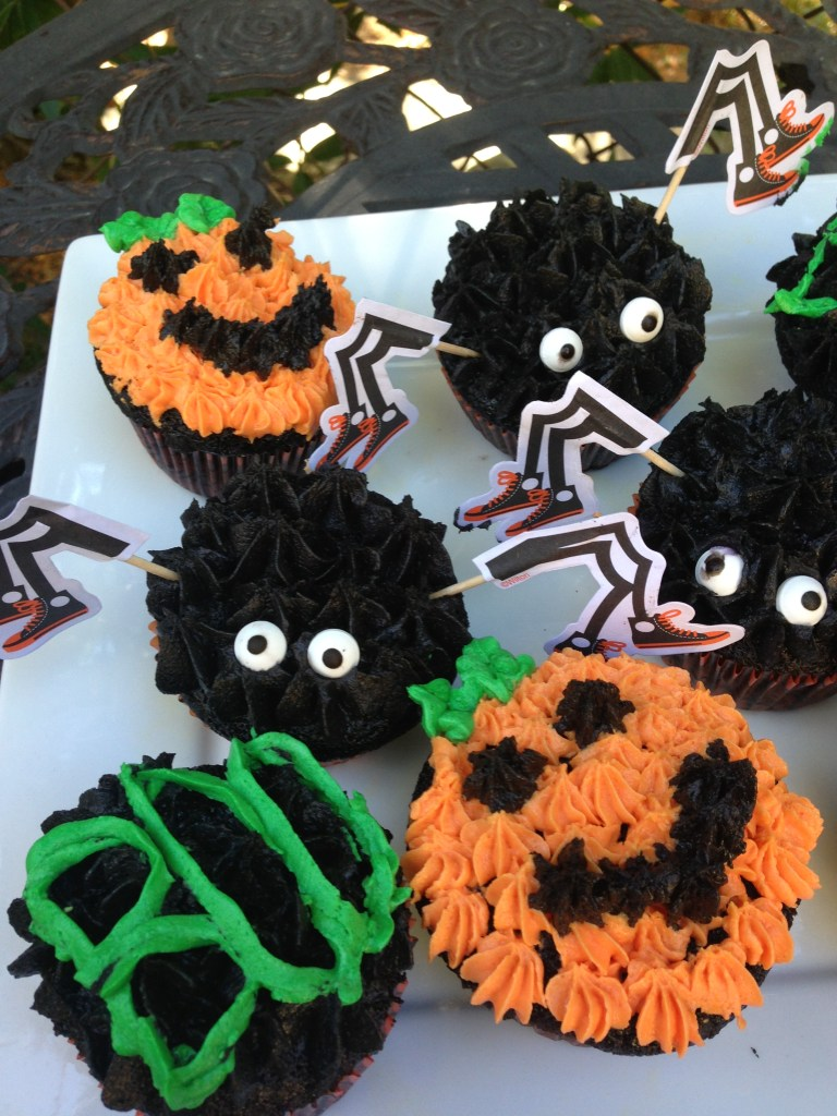 Halloween Double Chocolate Cupcakes Recipe