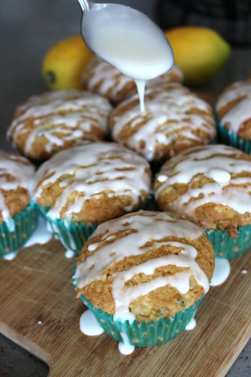 Zucchini Lemon Harvest Muffins