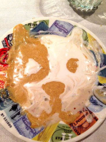 Dog Face Ice Cream Art by Mandy Gatlin