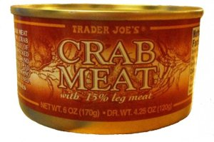 Trader Joes canned crab meat