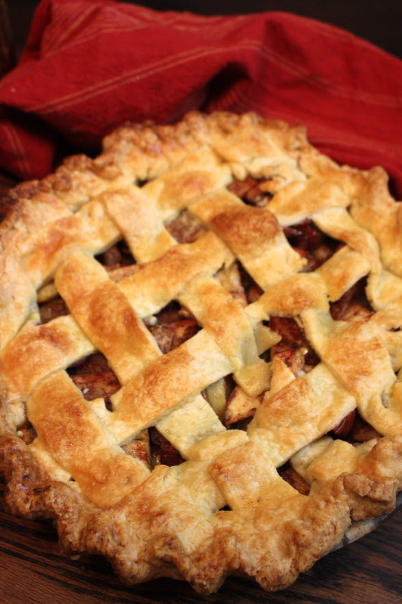 Easy Apple Pie with Lattice Top