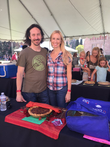 KCRW pie contest in Los Angeles