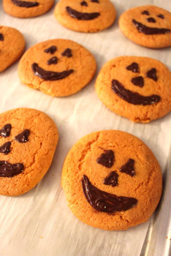 Gluten free pumpkin cookies at sweetie pie and cupcakes