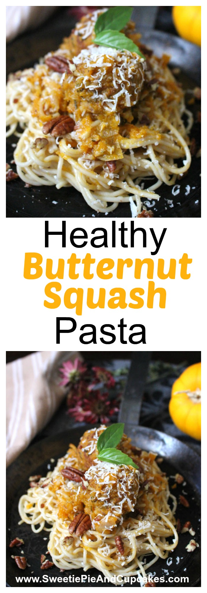 butternut squash pasta recipe is easy and healthy
