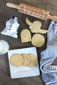Star Wars Cookies and Star Wars Embossing Rolling Pin