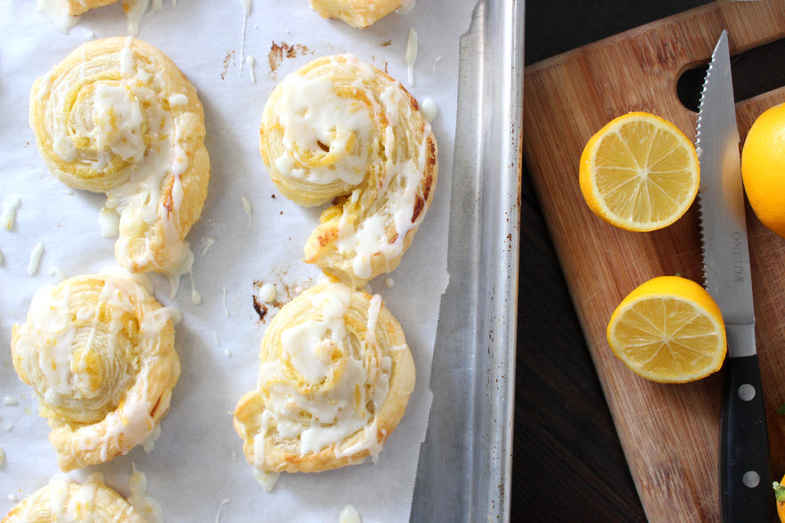 How to make Lemon Pastry Rolls