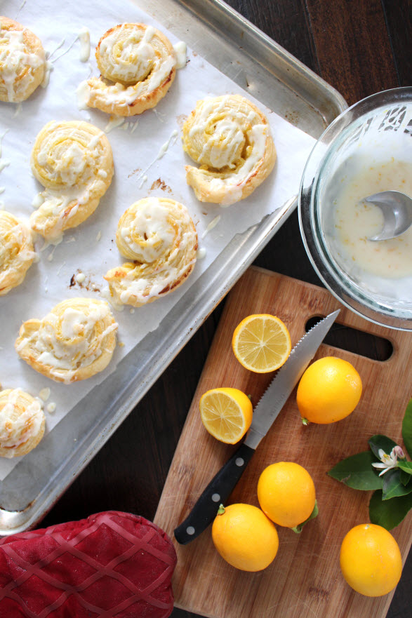 Lemon Tarts with Lemon Icing